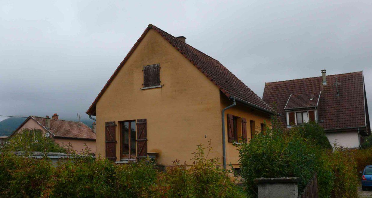 Maison en briques avant travaux