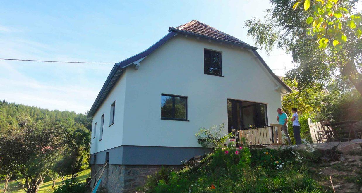 rénovation complète d'une maison de campagne