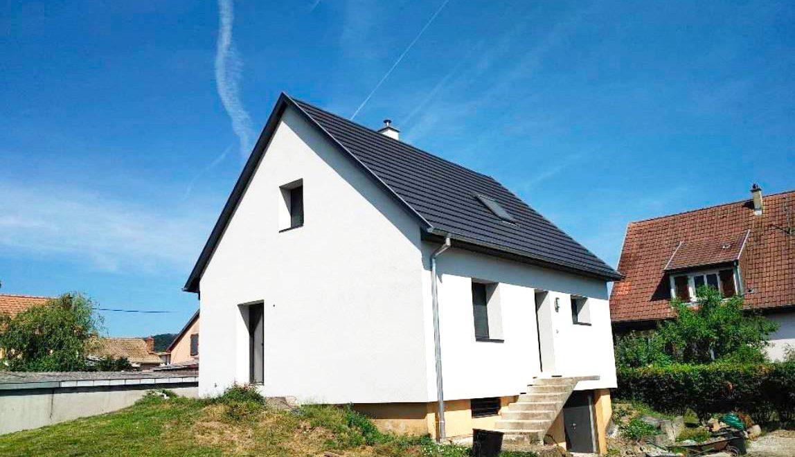 Rénovation complète à issenheim par Oktave