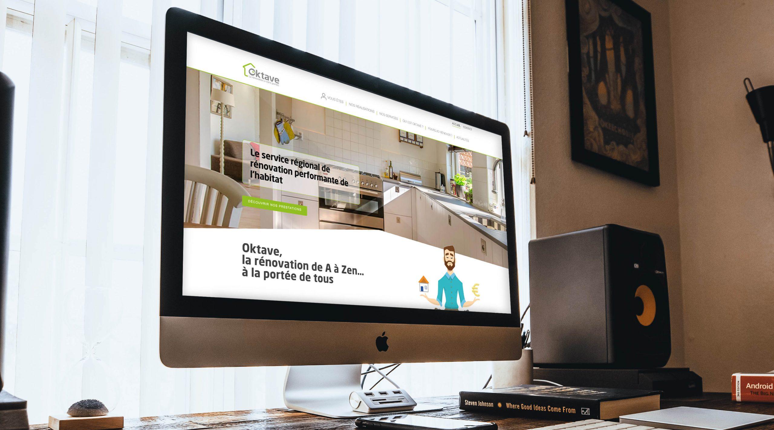 Oktave fait peau neuve avec un nouveau site web !