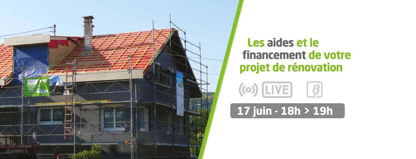 Les aides et les financement pour la rénovation